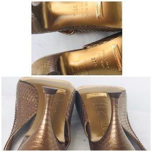 Dolce & Gabbana Shoes - DOLCE & GABBANA COOPER LEATHER PUMPS